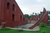Astronomical instrument in Jantar Mantar