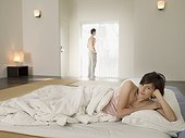 Couple in bedroom