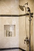 Tiled Shower Stall