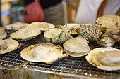 Japanese style seafood BBQ