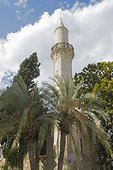 Larnaca, beach seafront, sea front, mosque, south coast, Cyprus